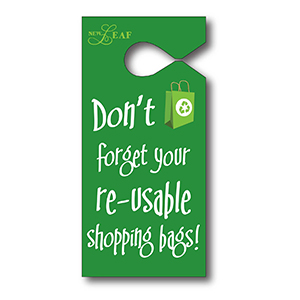 T13054 - Semi-Rigid Vinyl Hanging Parking Tag