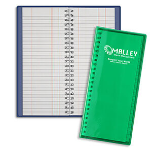 3308 - Wire-O Flexible Tally Book
