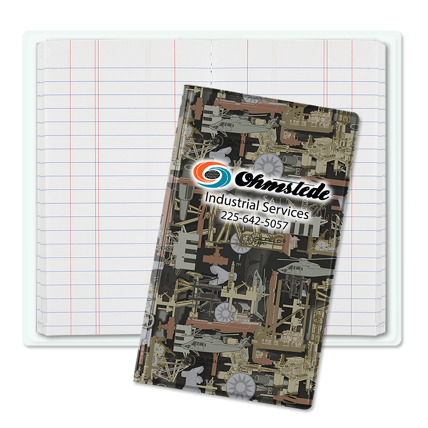 3430 - Oilfield Camo&#0153 Tally Book Jr.
