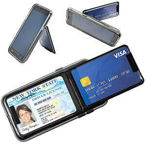 4030 - Tri-Pocket Tech Wallet - Standard