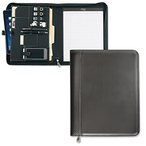 8084 - Carbon Fiber Zippered TechFolio