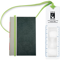 MI5470 - 3x Magnifier Bookmark with Book Band