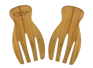 Item: Mi6084- Bamboo Salad Tongs